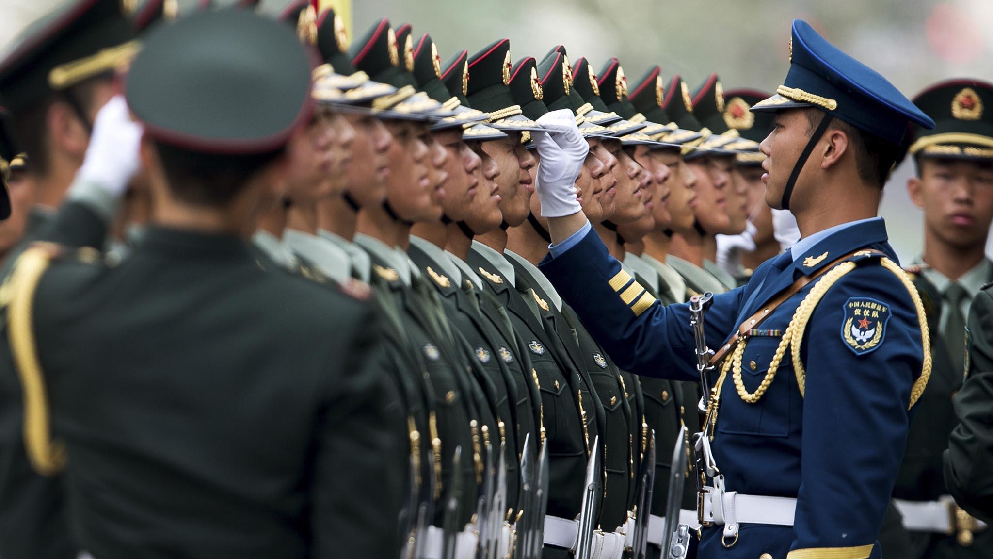 Pequim convidou tropas estrangeiras para parada militar