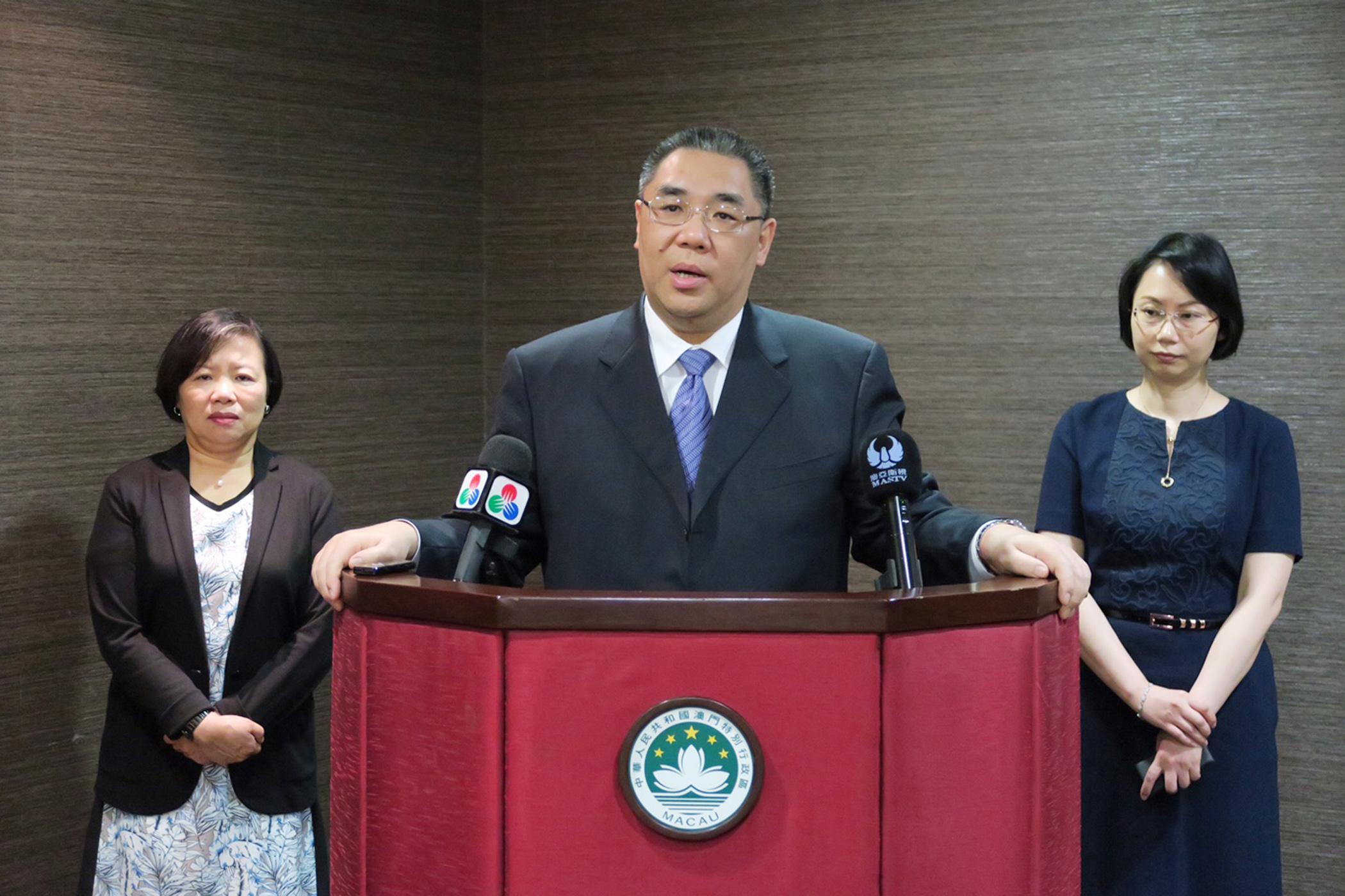 Águas marítimas | Chefe do Executivo fala em cooperação com Pequim