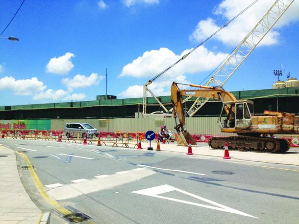 GIT | Parte do metro na Taipa concluída este ano. Governo não sabe se vai para tribunal sobre parque