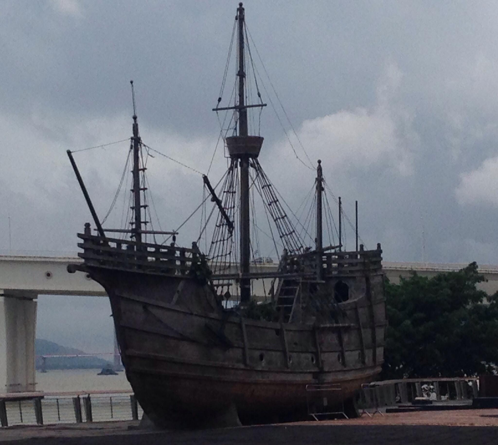 Património | Apelo à preservação de réplica de nau portuguesa