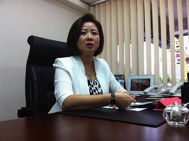 Melinda Chan, deputada da Assembleia Legislativa