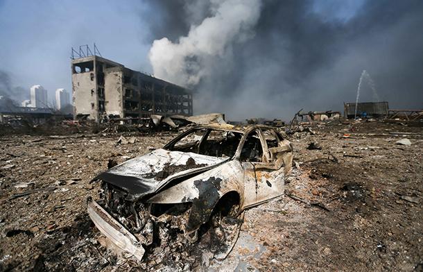 Tianjin | Presidente da Câmara assume responsabilidades sobre explosão