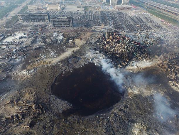 Tianjin | Armazém tinha 3.000 toneladas de produtos perigosos