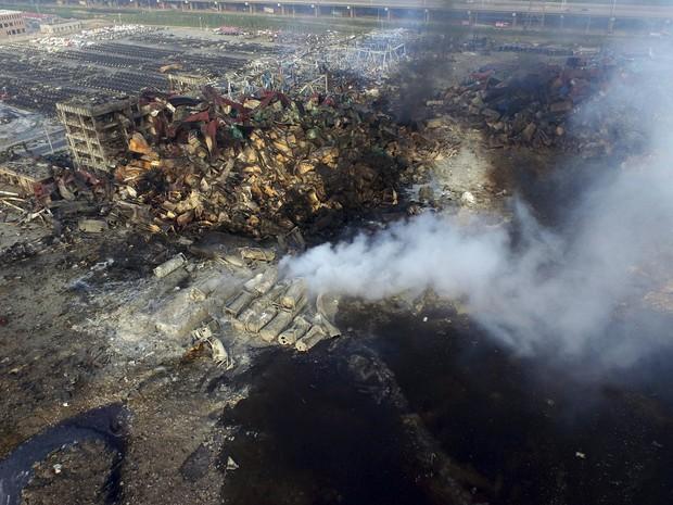 Tianjin | Imprensa critica resposta dos dirigentes de às explosões