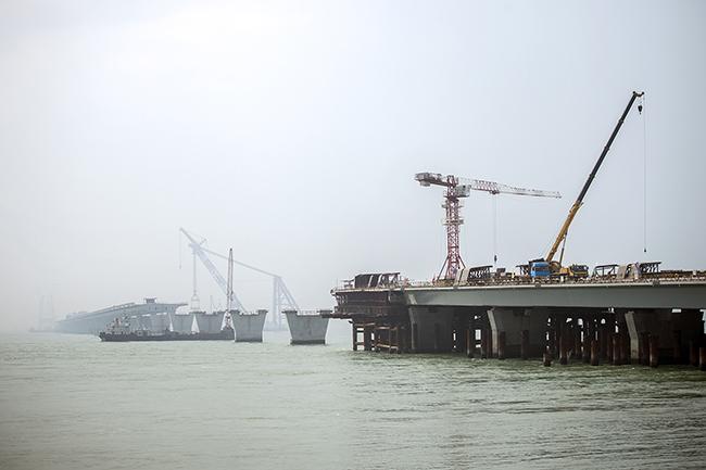 ETAR| Pedida criação de estação na ilha artificial da futura ponte HK – Zhuhai – Macau