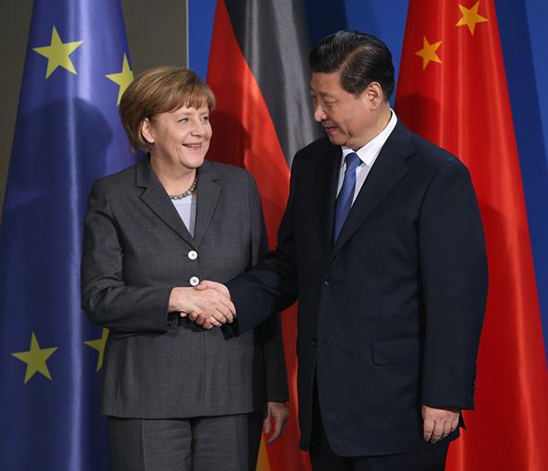 Davos | Angela Merkel diz que limite da cooperação económica com a China está nos valores fundamentais