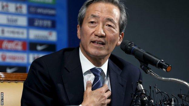 "Chung Moon-Joon diz que FIFA continua a ""sabotar"" a sua candidatura"