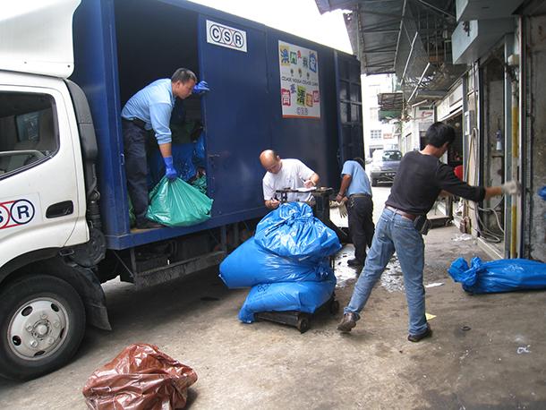 Ano novo | 46 toneladas de lixo produzidas em três dias
