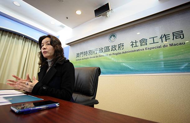 """Vong Yim Mui, presidente do Instituto de Acção Social: """"Não acordámos agora para a violência doméstica"""""""