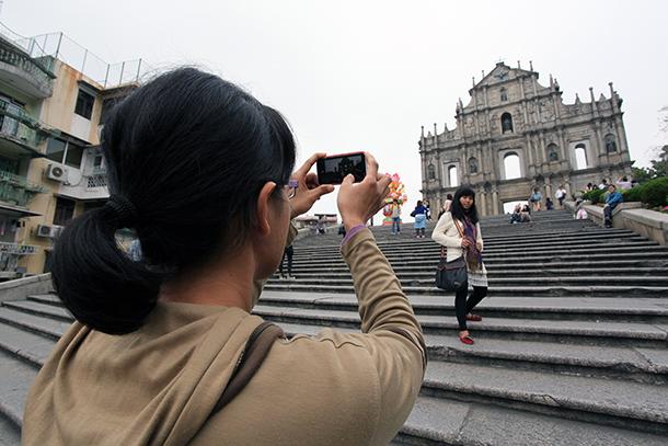 Semana Dourada   Número de turistas aumenta 18,4 por cento