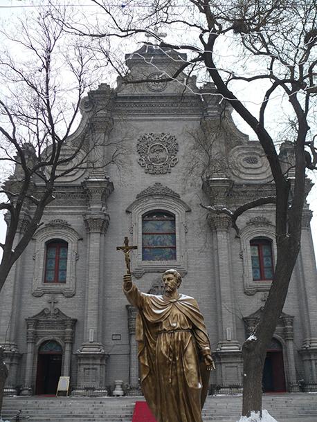 Os primeiros católicos na China