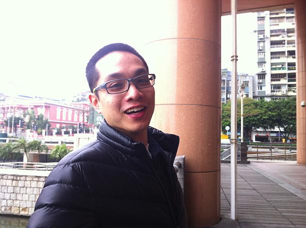 David Marques, professor   De Macau ao Canadá