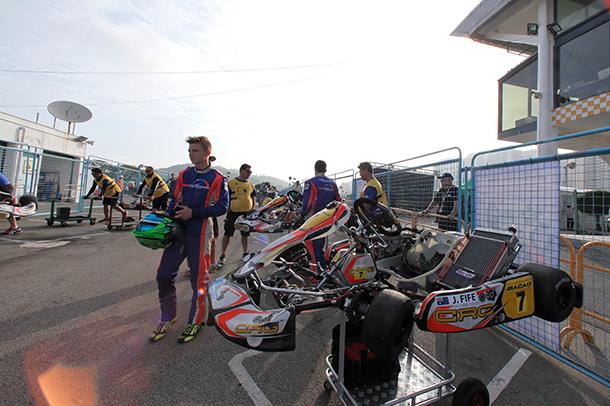 Kartódromo de Coloane sem provas internacionais