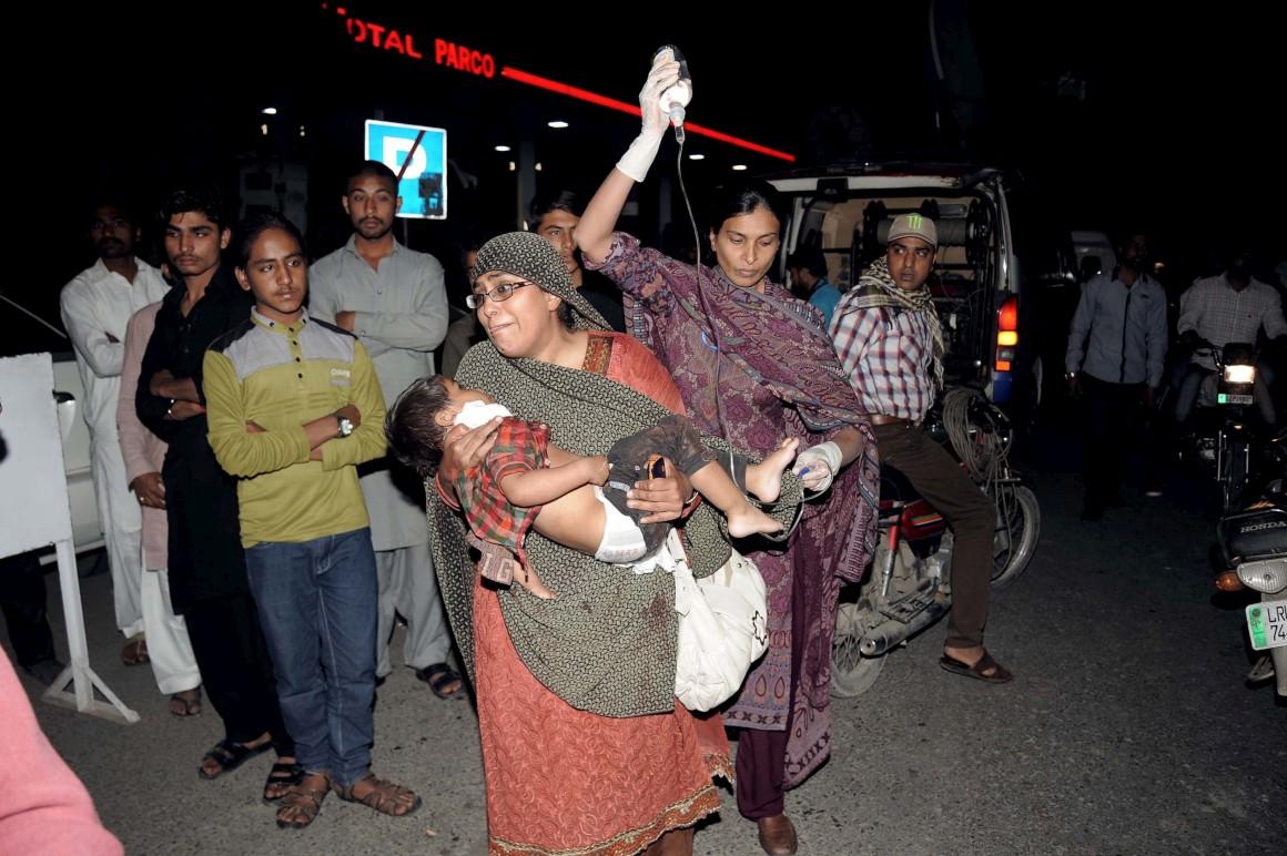 Terrorismo | 72 mortos e centenas de feridos em atentado em Lahore