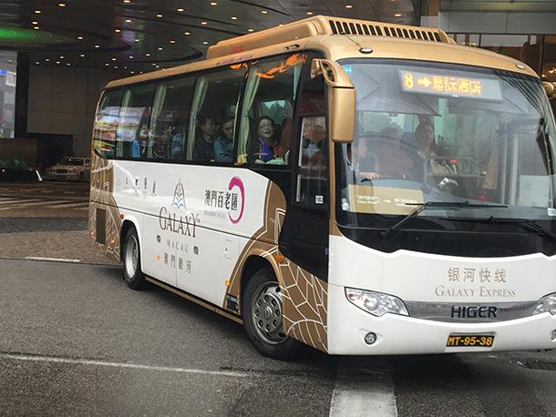 Casinos   Shuttle-bus deixam de ser gratuitos. Turistas queixam-se
