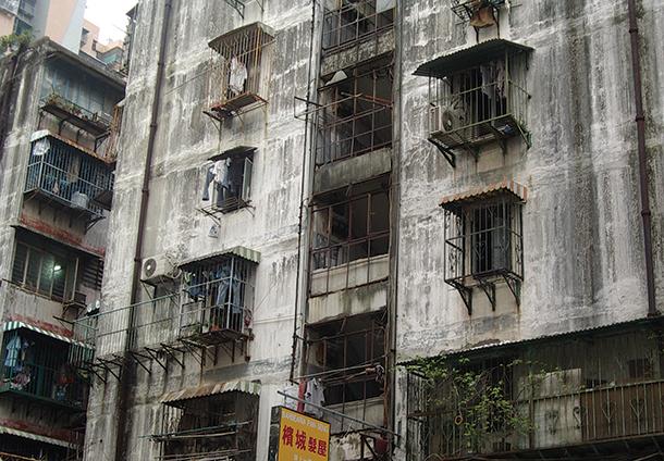 Iao Hon   Associações apelam a reparação urgente de edifício antigo