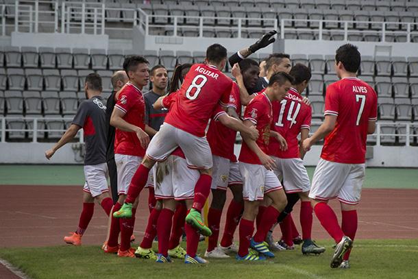 Liga de Elite   Benfica de Macau goleia segundo classificado por 7-0