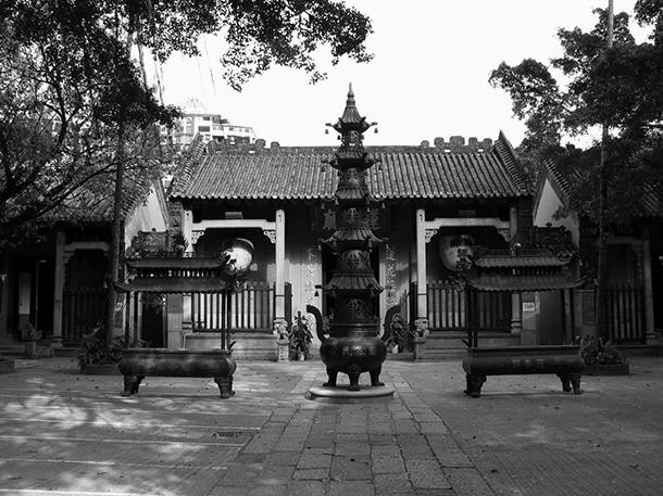 Lin Zexu visita Macau