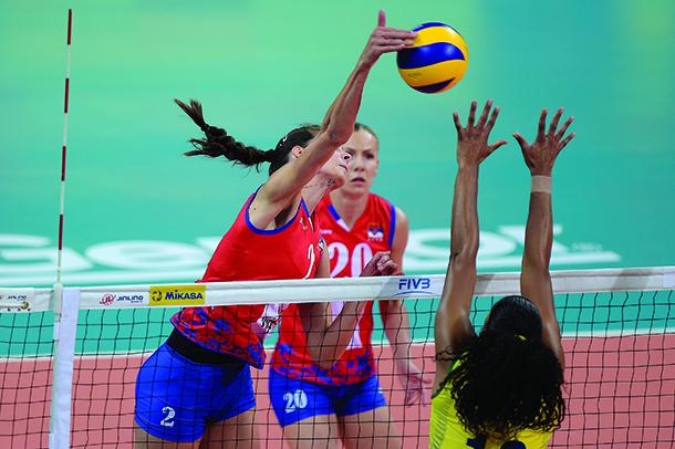 Voleibol Feminino   Grande Prémio Mundial arranca