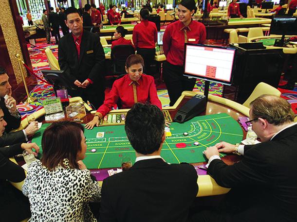 Receitas do Governo acompanham lucros do jogo