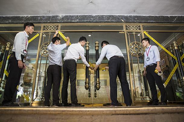 Turismo   Palácio Imperial Beijing fecha portas por seis meses.  Empresa queixa-se de falta de aviso da DST