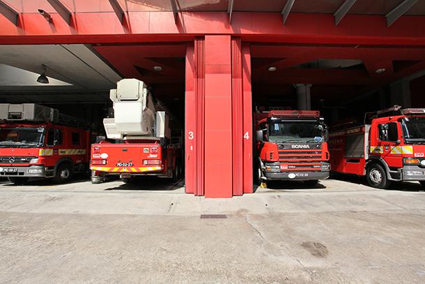Incêndio   Caso suspeito de fogo posto na Taipa