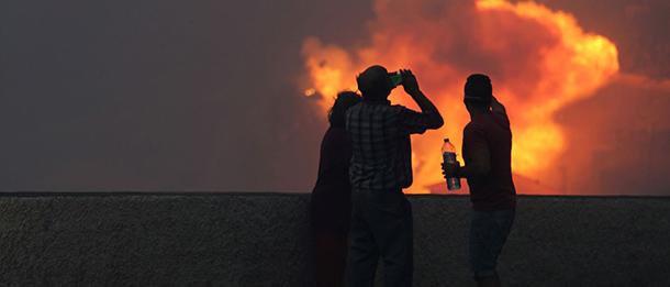 Incêndios | Já há cinco vítimas mortais dos fogos que fustigam o país Portugal a arder