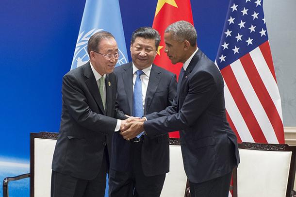 Ambiente   Pequim e Washington assinam compromisso fundamental
