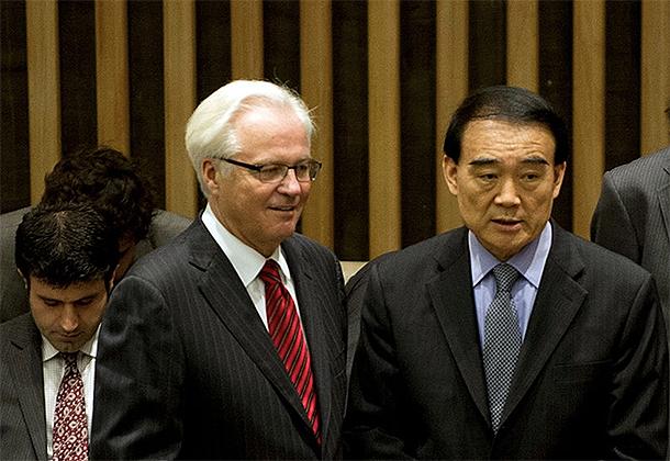 Síria | Pequim e Moscovo cerram fileiras