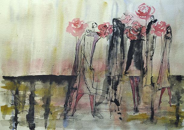 Uma demão de rosa, um toque de perfume