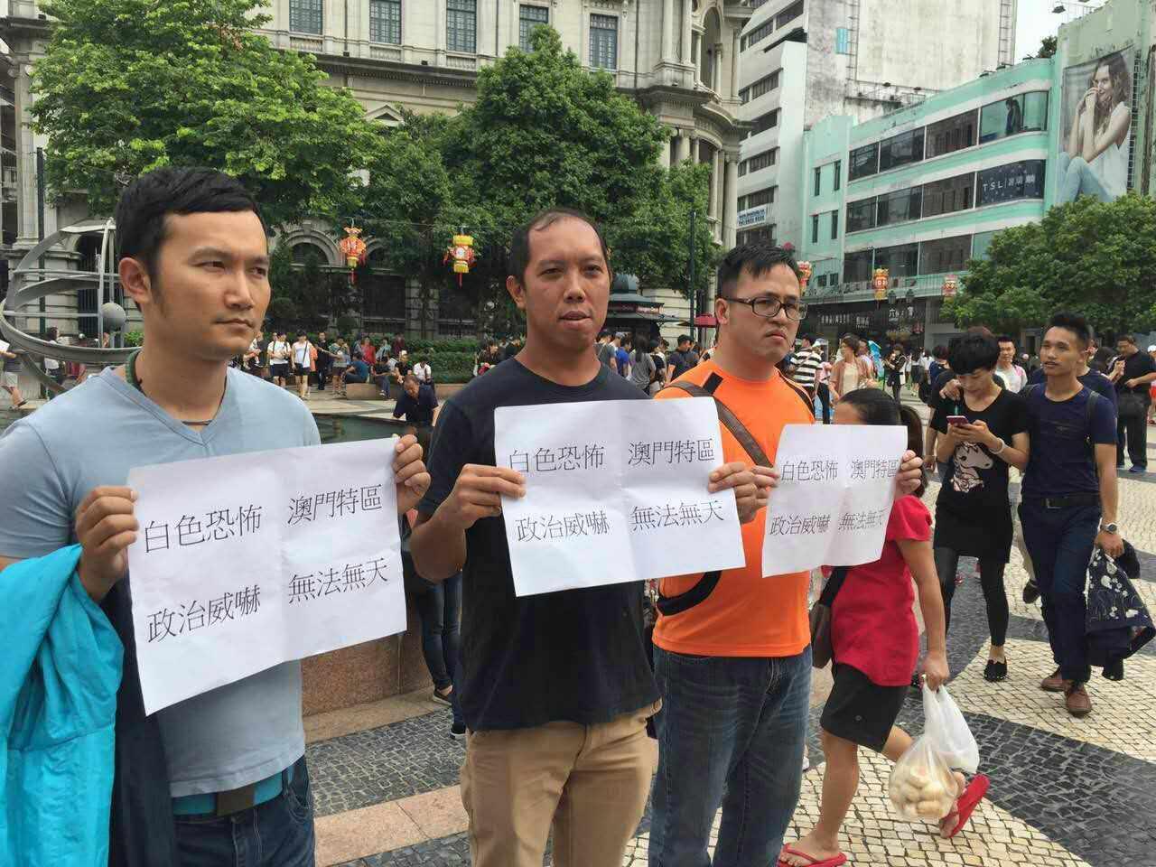 "Activista Lei Kin Ion ""coagido a ficar em casa"""