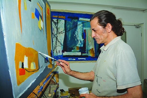 """Joaquim Franco, artista plástico: """"Quero muito internacionalizar o meu trabalho"""""""