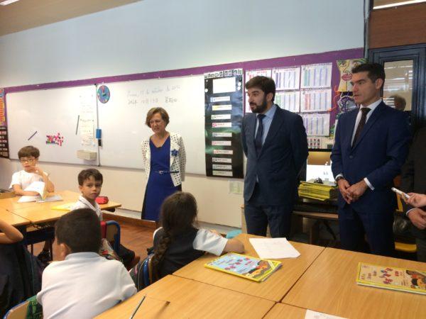 Visita do Ministro da Educação | EPM continua a ser financiada pela Fundação Macau