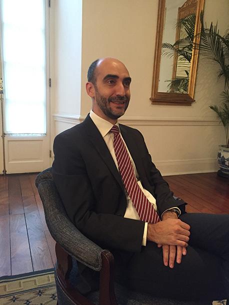 """Paulo Alexandre Ferreira, Secretário de Estado: """"Noto um forte interesse da China na aproximação a Portugal"""""""