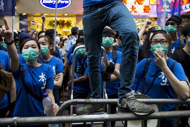 Hong Kong   Pequim diz que tem de agir para travar separatismo
