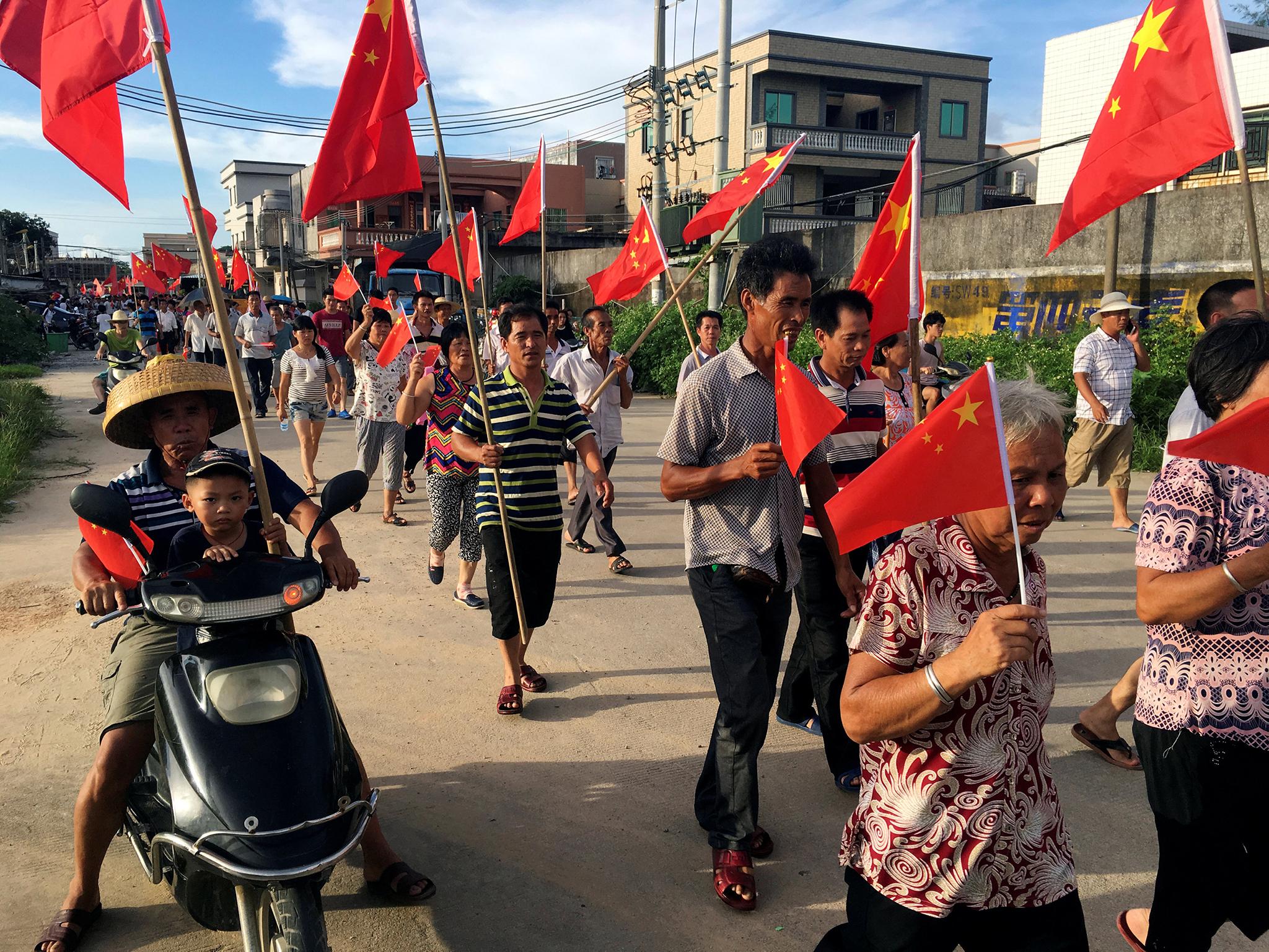 Manifestantes de aldeia democrática condenados à prisão