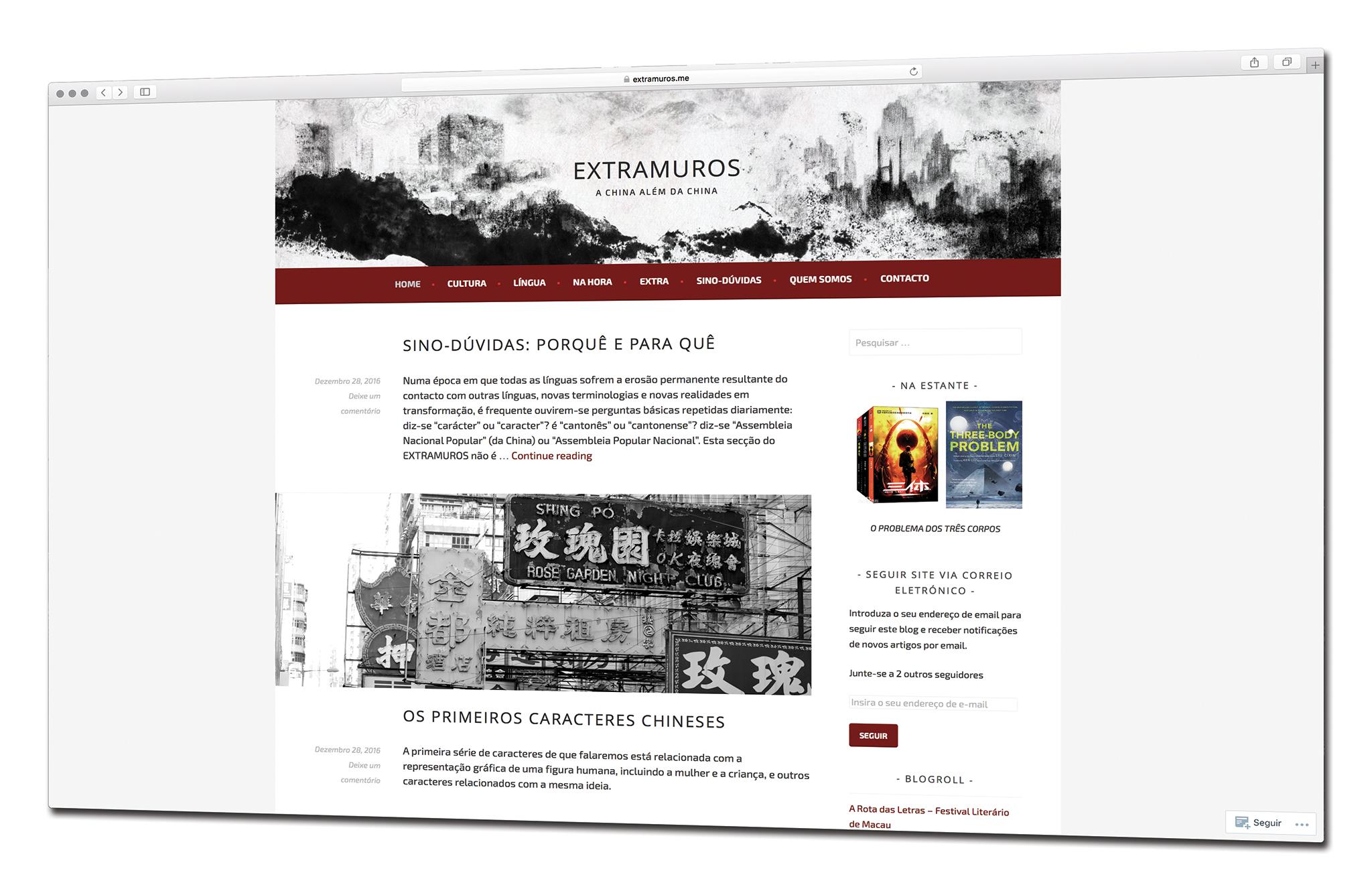 Extramuros | Projecto online de Luís Ortet visa criar pontes com cultura chinesa