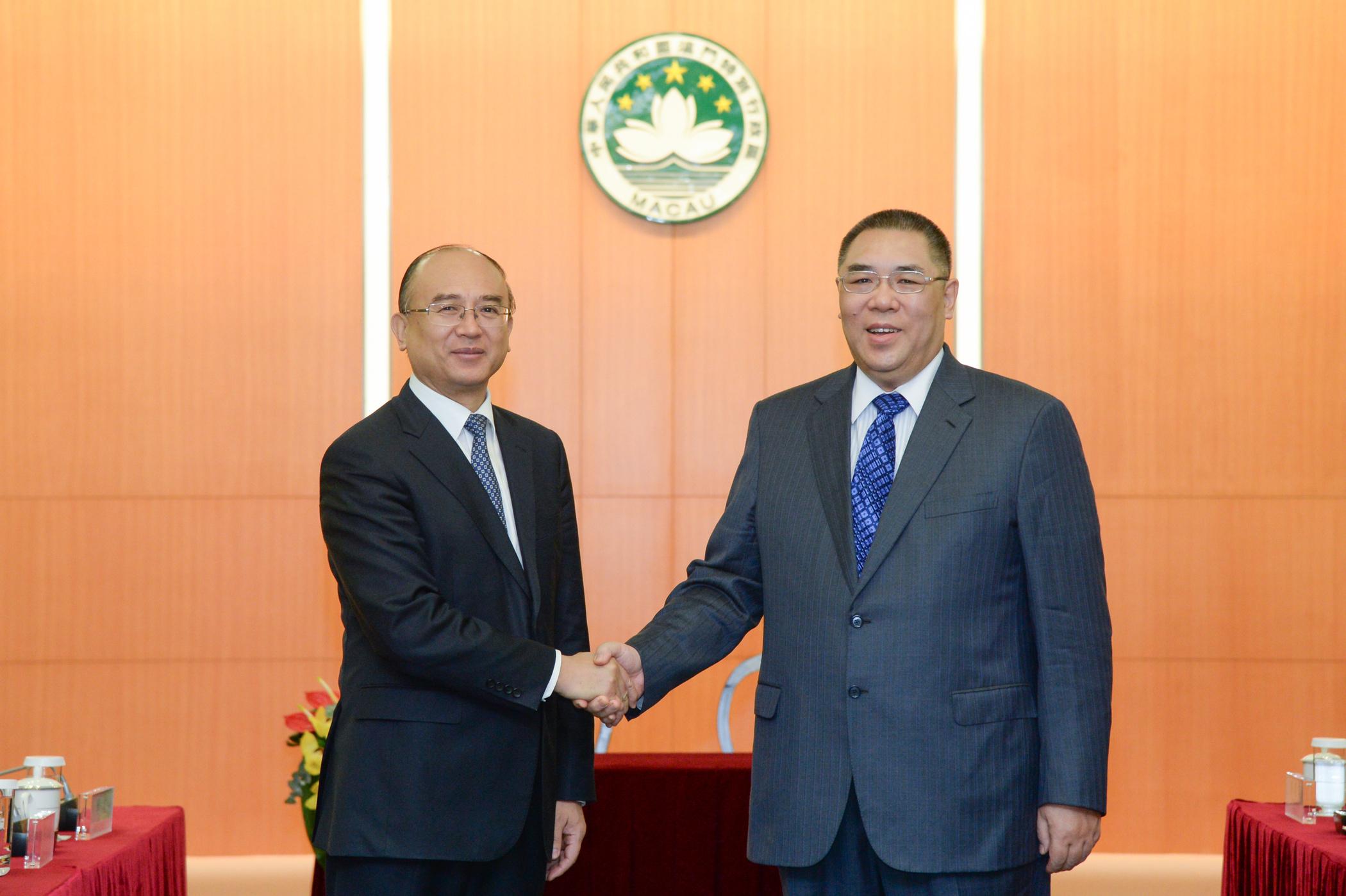 Novas áreas de cooperação entre Macau e Shenzhen