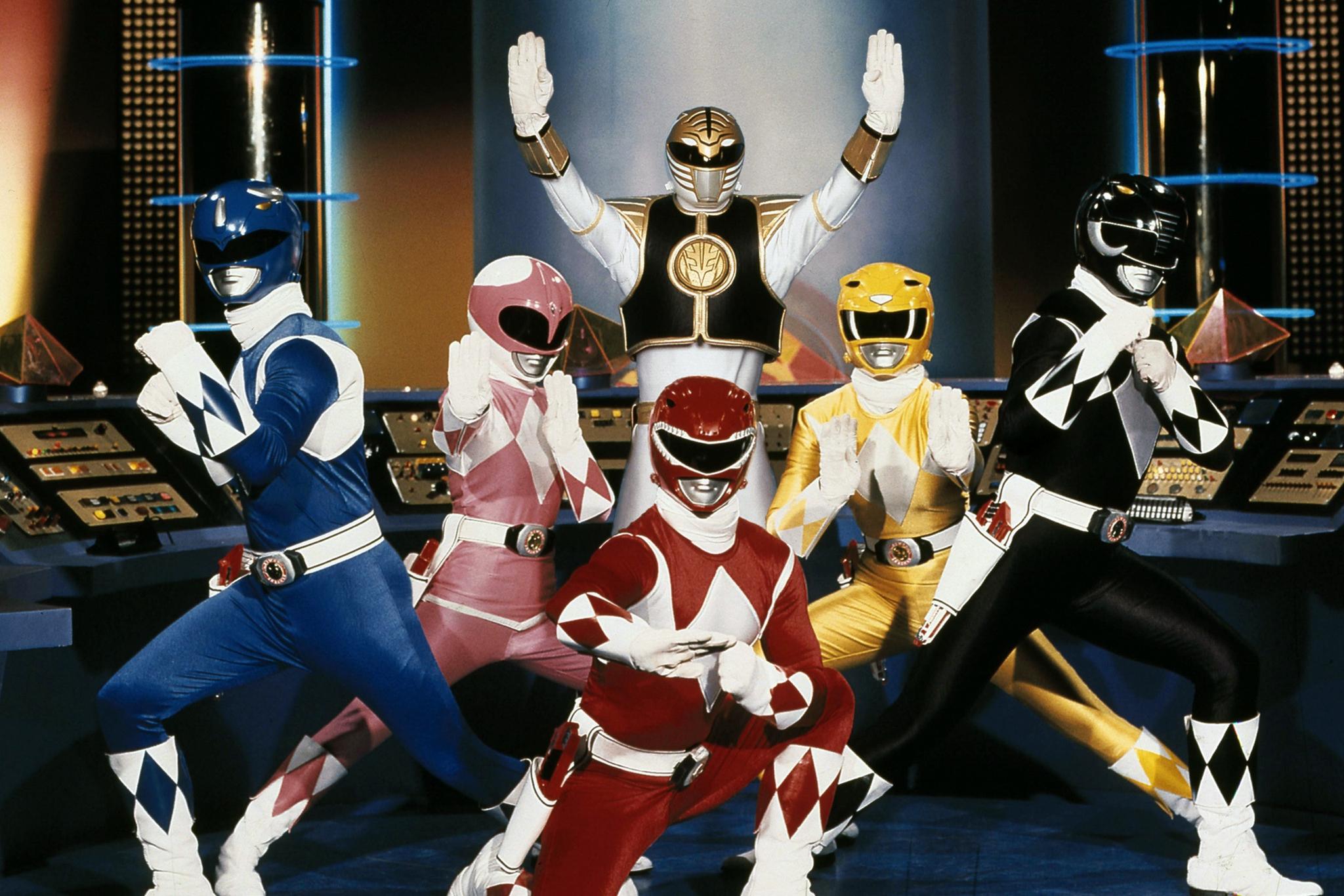 Power Rangers da Fantasia