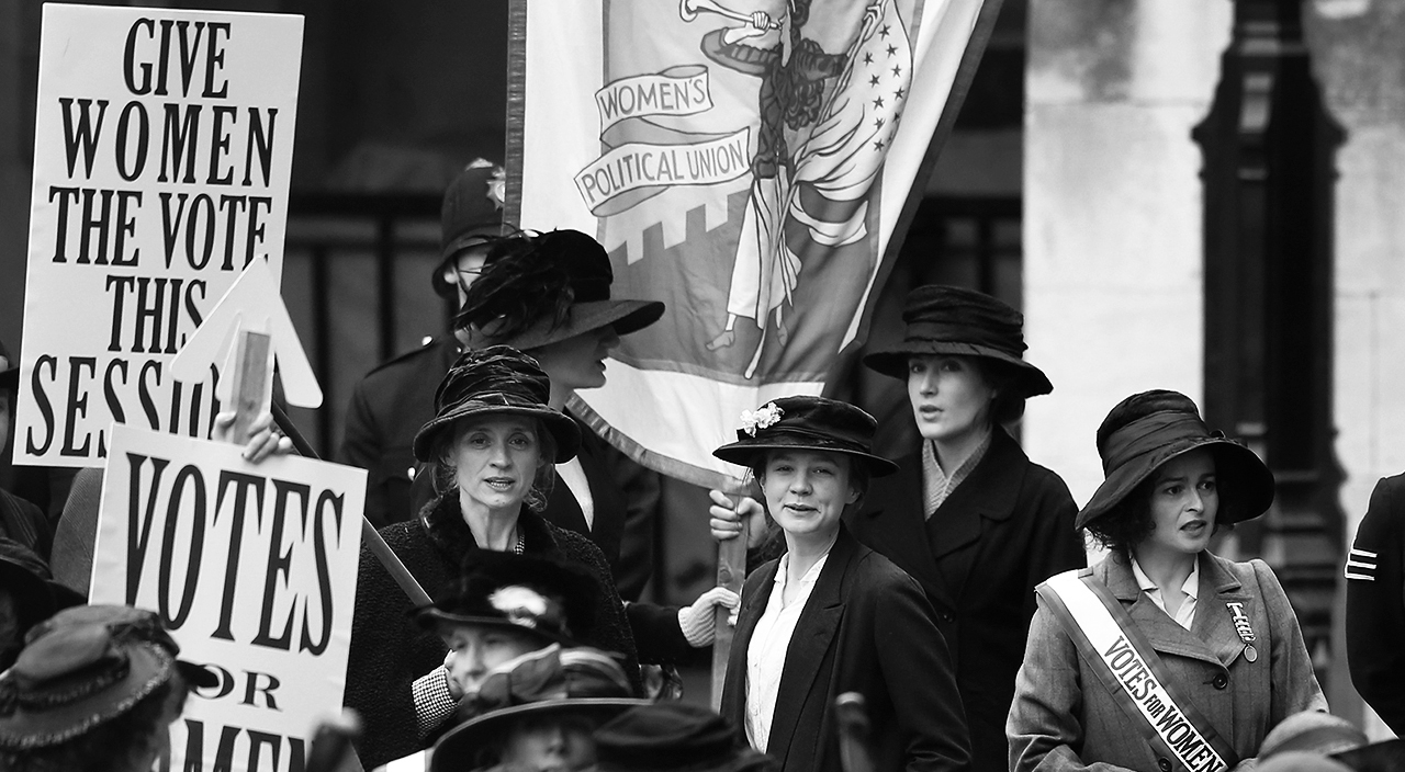 A marcha das mulheres