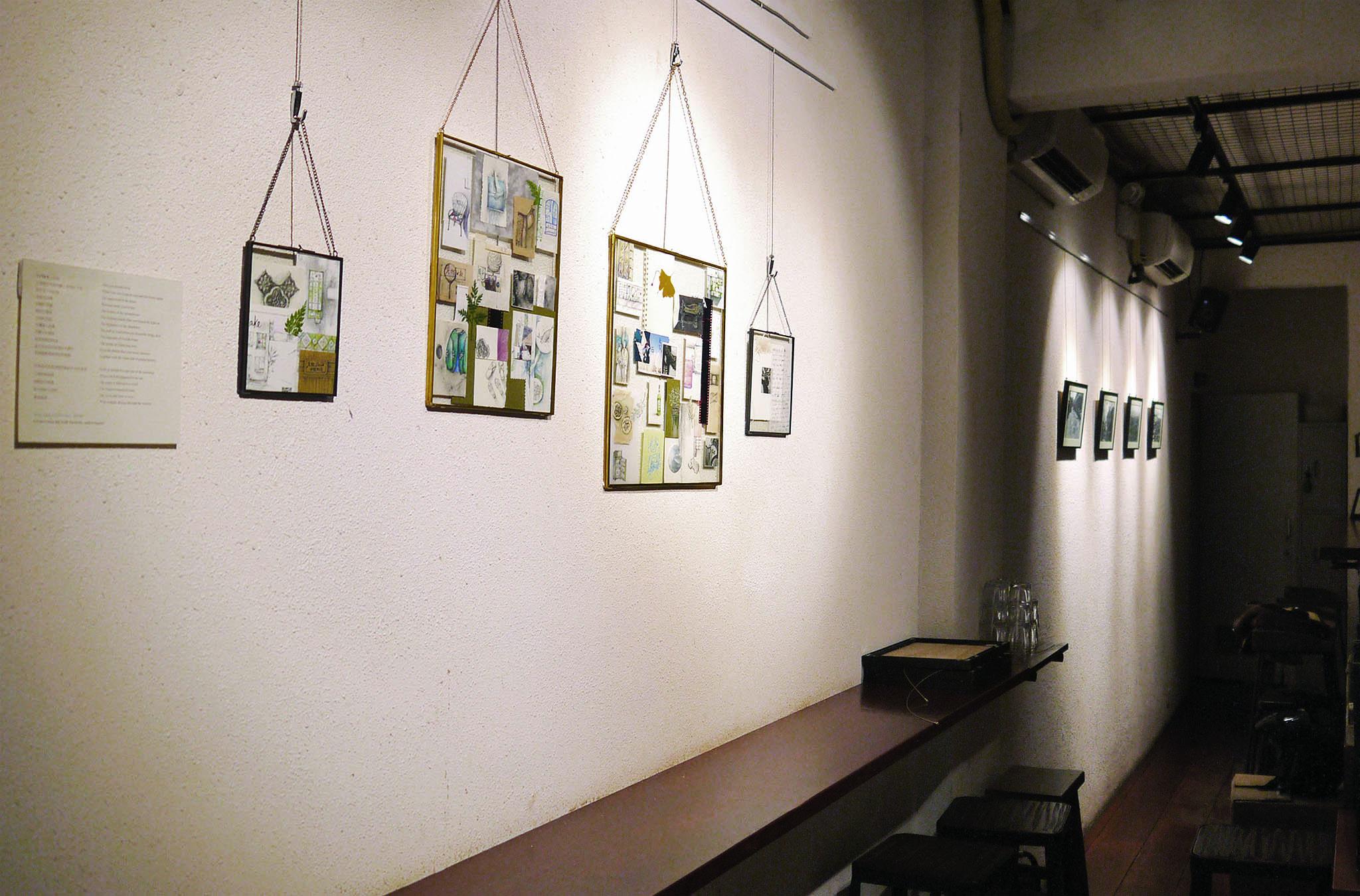 Sandy Leong Sin U expõe trabalhos no Café Terra