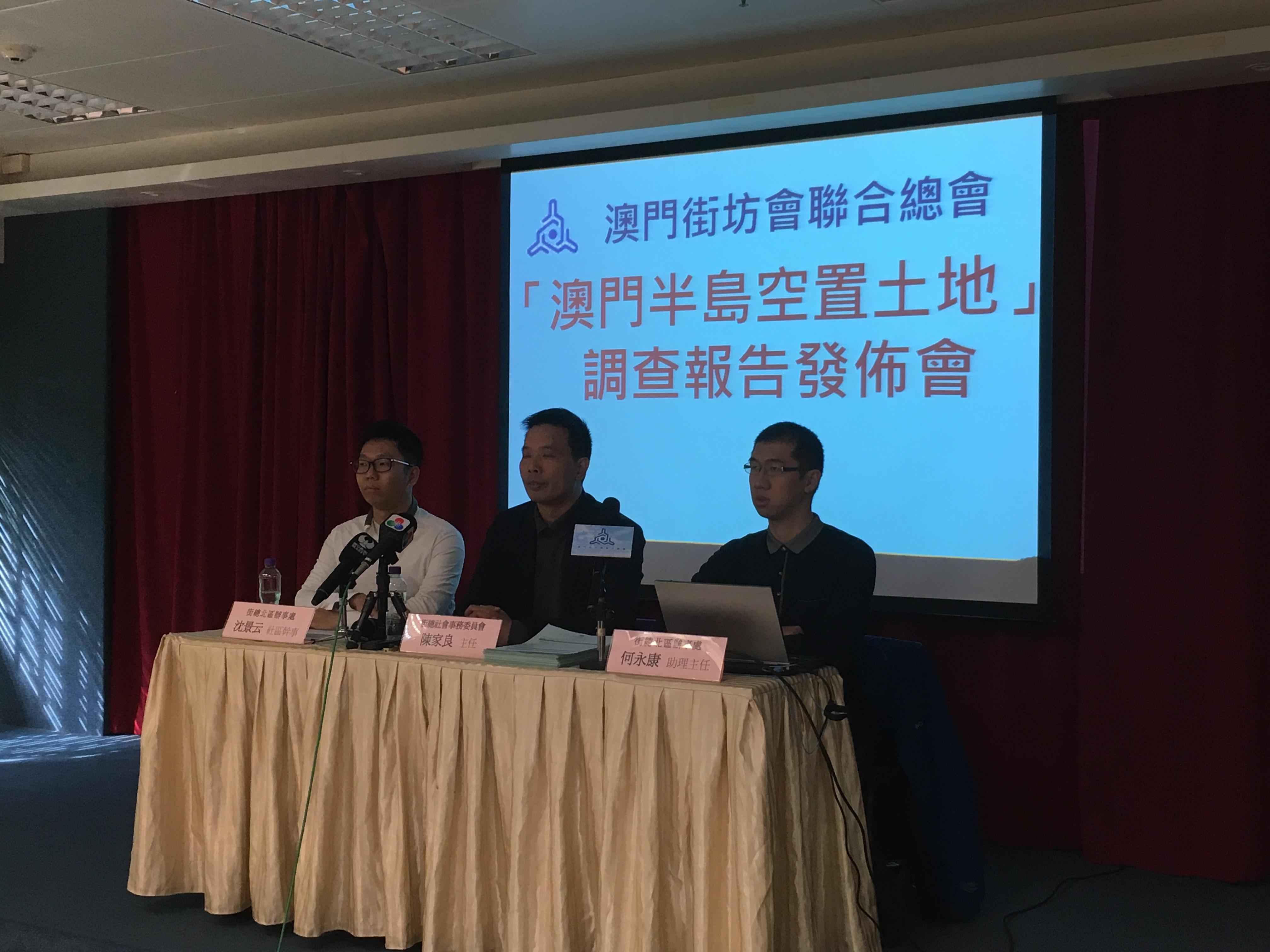 Estudo dos Kaifong revela quase 400 terrenos por desenvolver