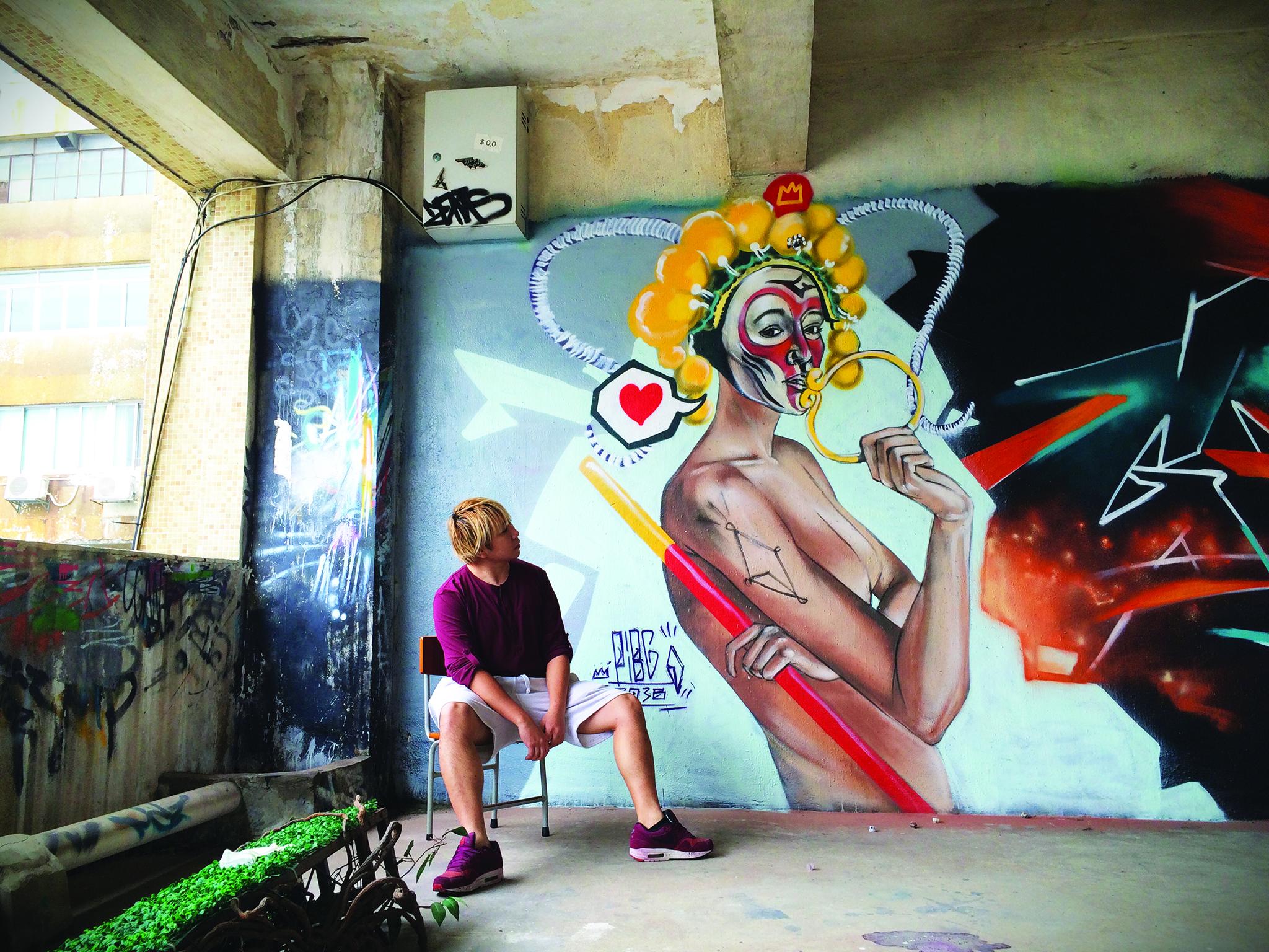Graffiti   Arte de rua dá passos tímidos em Macau