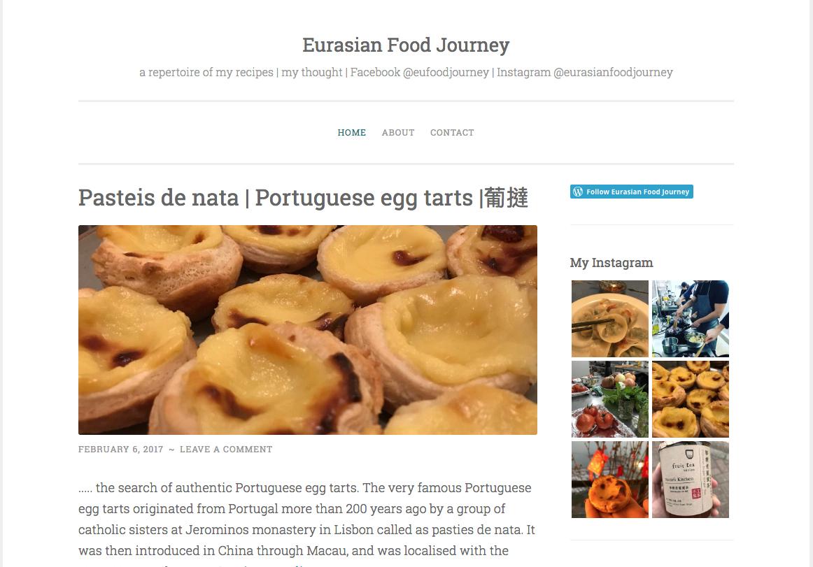 John Rocha é autor do projecto Eurasian Food Journey, sobre gastronomia macaense