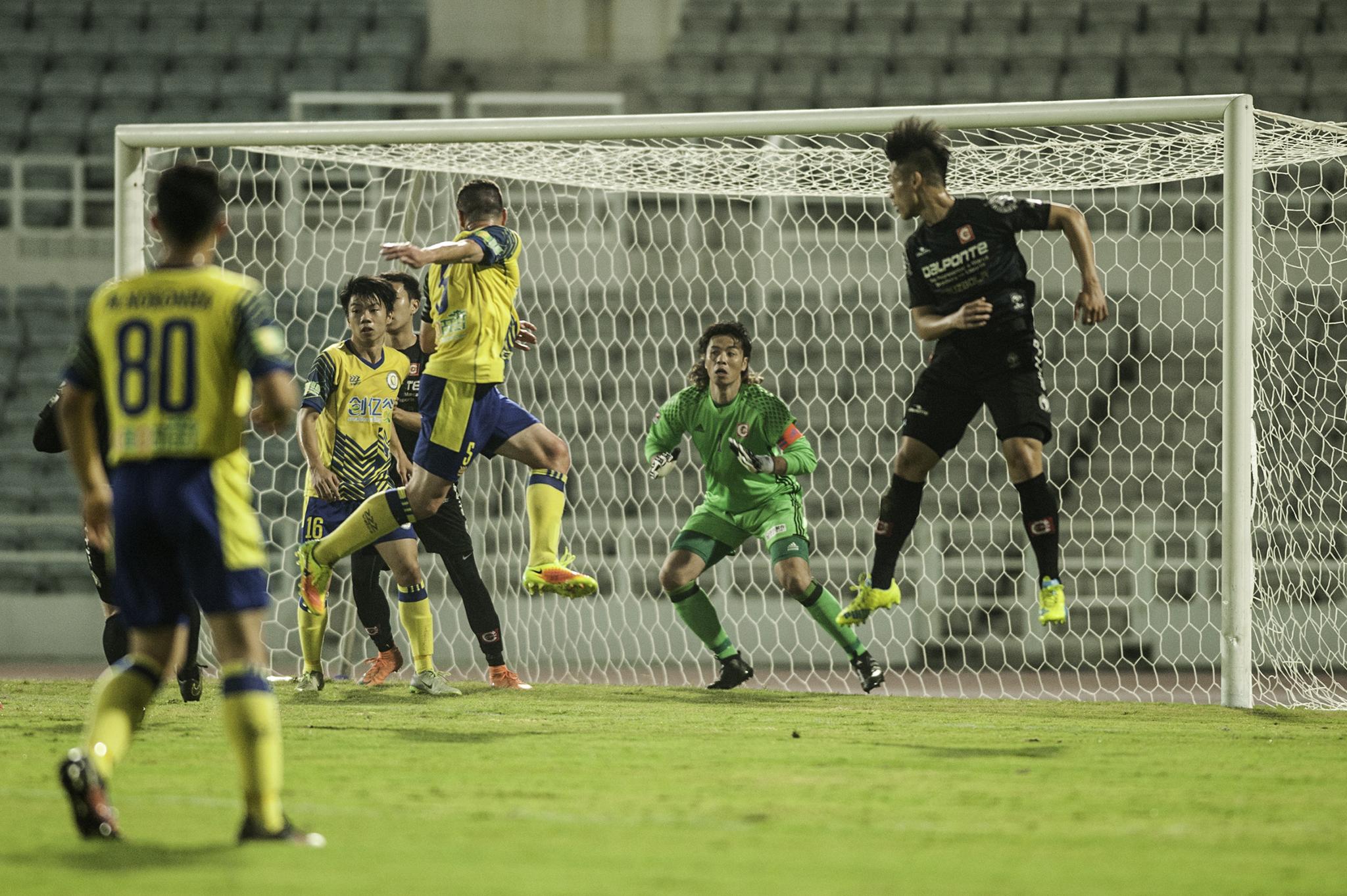 Liga de Elite   Benfica de Macau impõe goleada por 5-0 ao Ching Fung