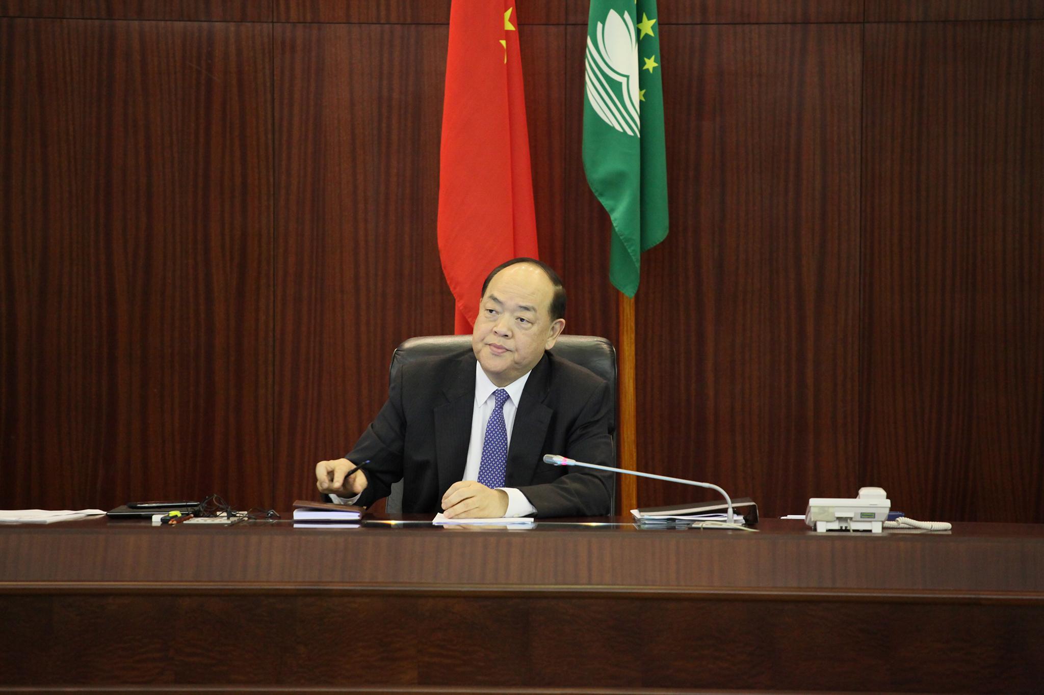 Presidente da AL recusa comentar efeito de doença na candidatura a Chefe do Executivo