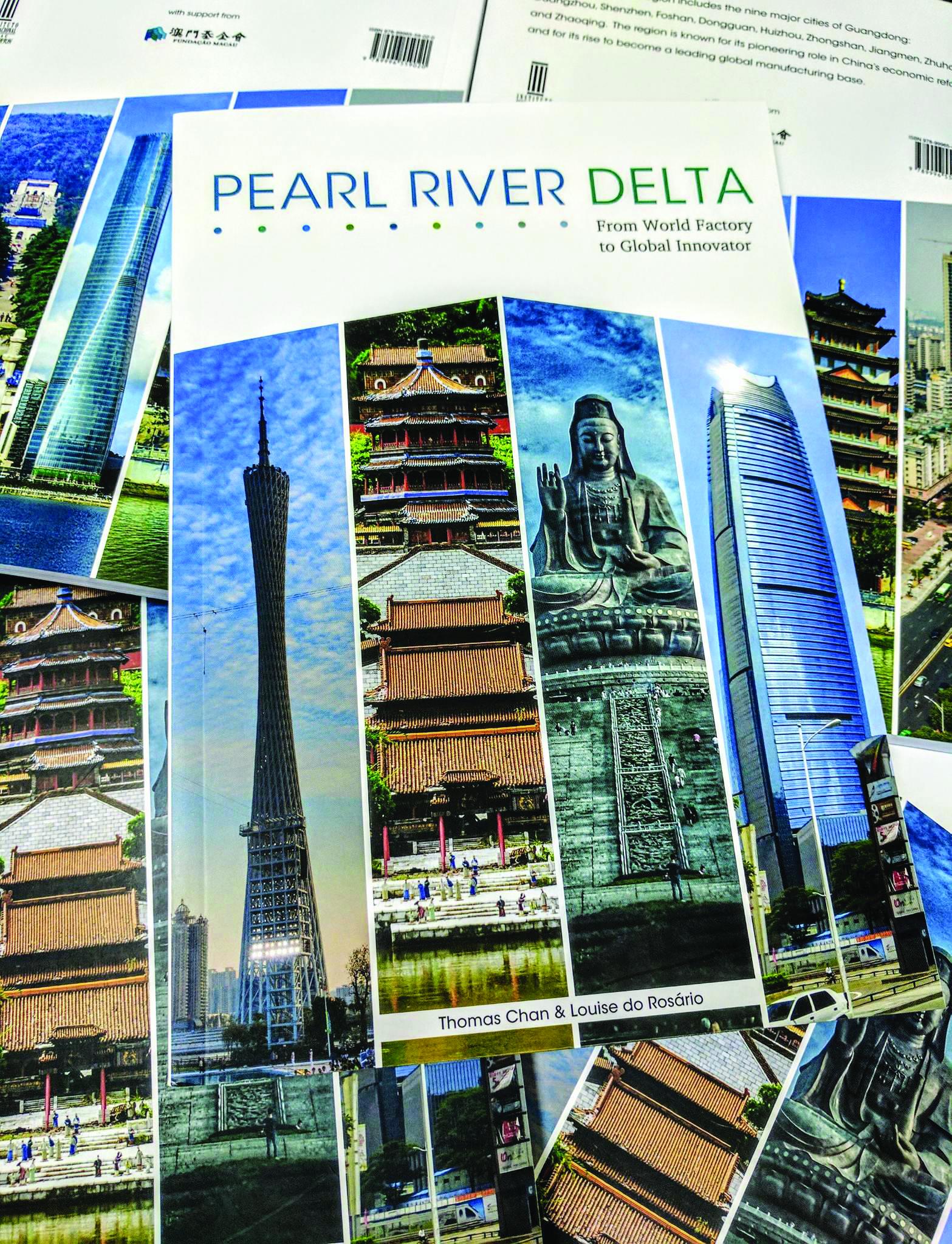 IIM lança livro sobre evolução económica da região do Delta do Rio das Pérolas