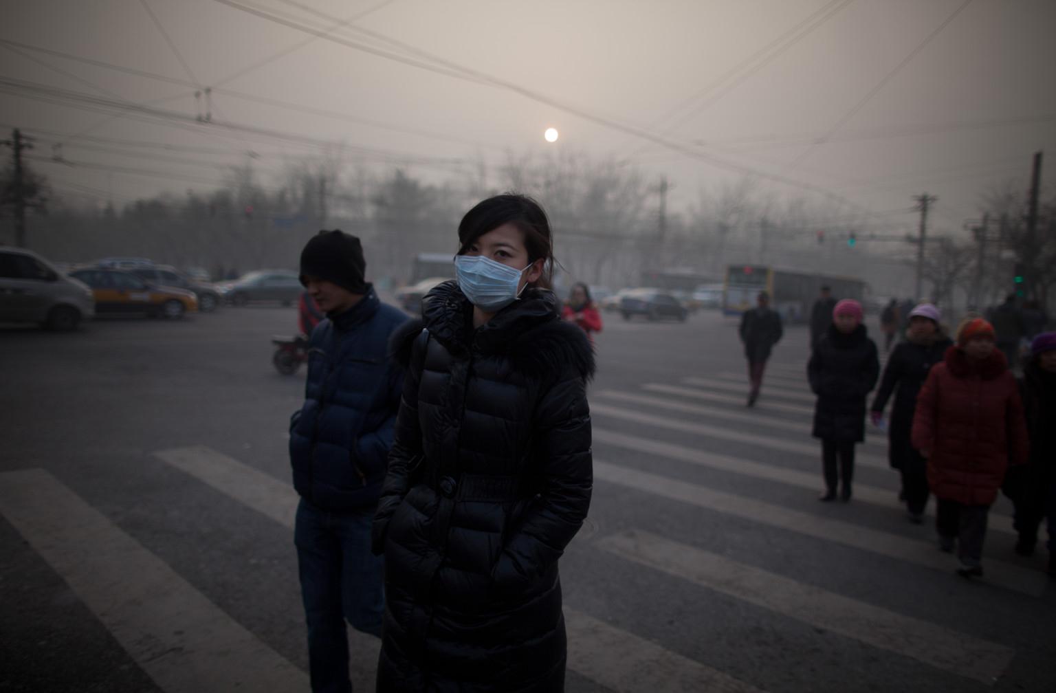Ambiente | Poluição aumenta em Pequim