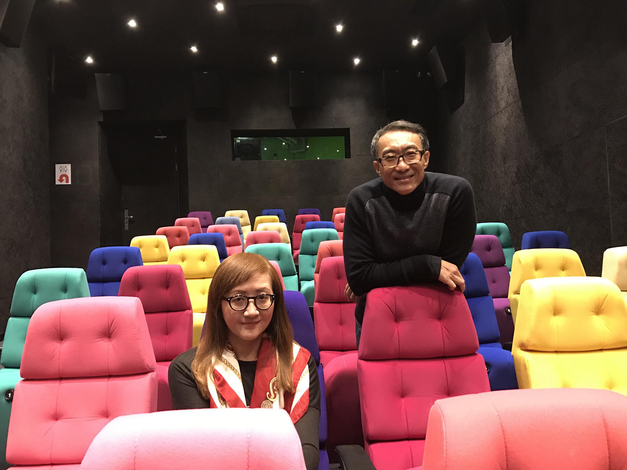 """Rita Wong e Albert Chu, gestores da Cinemateca Paixão: """"Queremos trazer cinema de todo o mundo"""""""