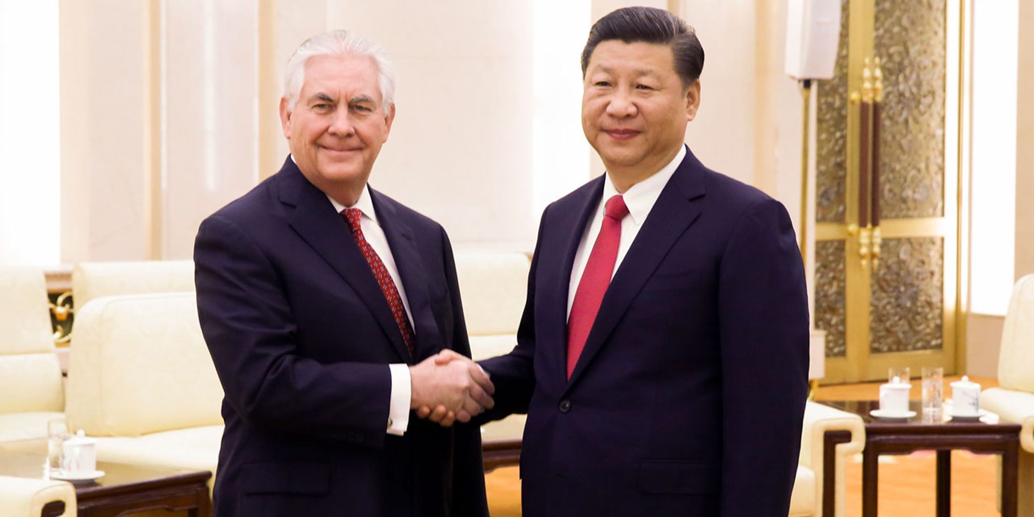 Xi Jinping e Rex Tillerson prometem fortalecer laços entre os países